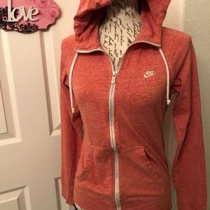 Nike Tops - NIKE ZIP UP WOMENS HOODIE SIZE M